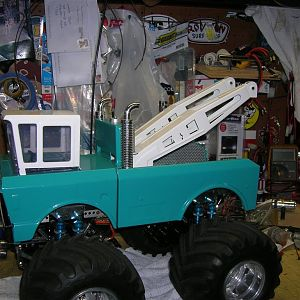 My Tow truck project