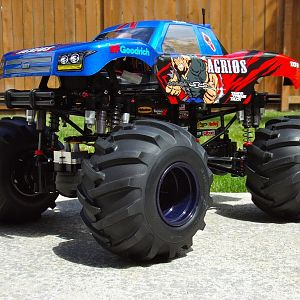 Customized Tamiya TXT-2 AGRIOS