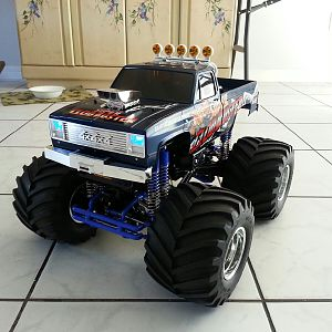 Super Clodbuster with Blue LED's